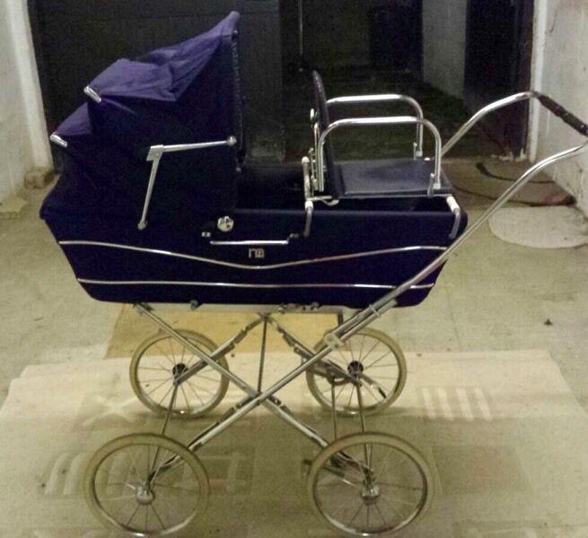 Vintage Retro Coach Built Original Mothercare Pram Baby