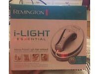 Remington I-light essential, IPL hair removal.