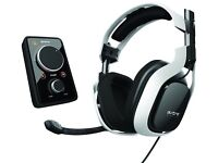 Astro A40's with Mixamp Pro, works with all consoles+PC