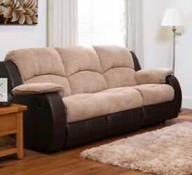 Three piece sofa suite for sale