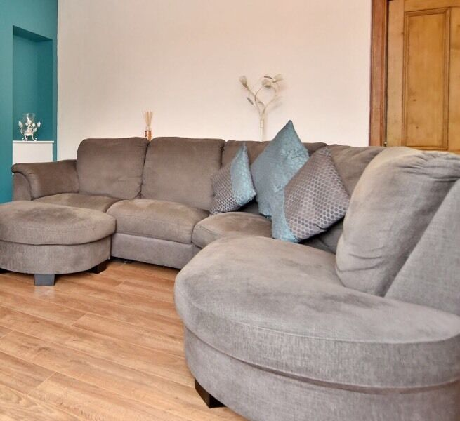 Gumtree New Corner Sofas: Ikea Tidafors Corner Sofa And Footstool*CAN DELIVER*