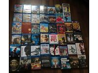 BLU ray and DVD collection