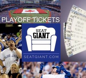 BLUE JAYS PLAYOFF TICKETS - ALCS & WORLD SERIES!!!