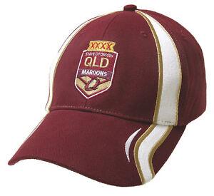 NRL QUEENSLAND MAROONS STATE OF ORIGIN SUPPORTER CAP - BRAND NEW