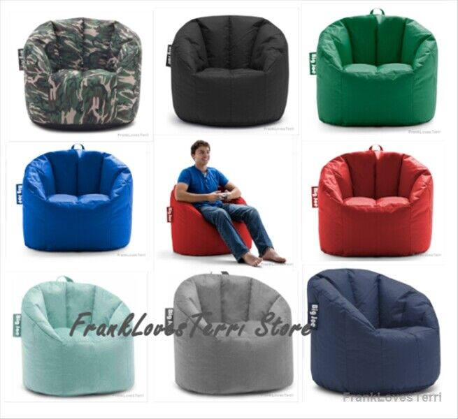 Big Joe Milano Bean Bag Gaming Chair Comfort For Kids Adult