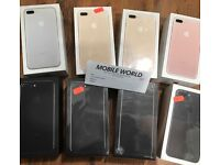 Iphone 7 plus 256gb brandnew 12 month Apple waranty