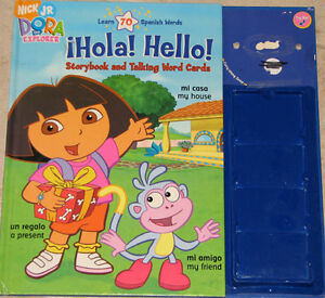 Dora Storybook Book with Cards