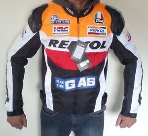 Motorcycle REPSOL Jacket New for Men