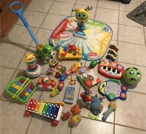 Large lot of baby/toddler toys