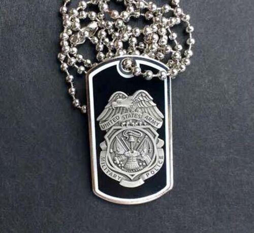 US Army Military Police Quality Mini-Badge Dog Tag