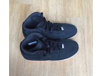Nike Black Suede Air Force 1 High Tops Only Used Once