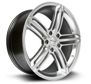 Roues (Mags) 4 saisons  RTX OE Bavaria ultra argent - AUDI