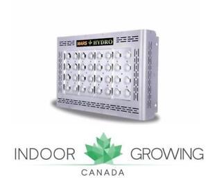Mars Hydro LED Grow Lights - Indoor Hydroponic and Soil Growing | IndoorGrowingCanada.com