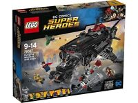 LEGO SUPER HEROES DC COMICS 76087 JUSTICE LEAGUE FLYING FOX: BATMOBILE AIRLIFT ATTACK BRAND NEW