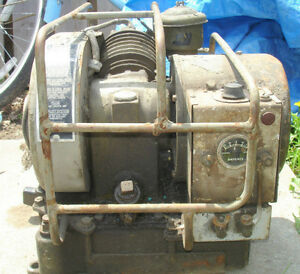 1940's OMC MILITARY 4 STROKE GENERATOR COMPLETE & TURNS OVER Peterborough Peterborough Area image 1