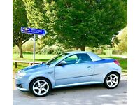 VAUXHALL TIGRA EXCLUSIV CABRIOLET (under 40,000 miles) 2previous owners.