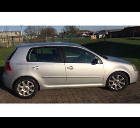 Volkswagen SILVER , VW GOLF , 5 DOOR ,DIESEL ,AUTOMATIC , GT DSG 12 months MOT