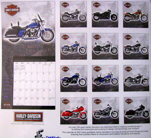 """ Harley-Davidson -105th Anniversary - Calender-Never opened "" Peterborough Peterborough Area image 2"