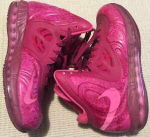 Nike air max hyperposite RASPBERRY RED US10 524862-601 basketball Adelaide CBD Adelaide City Preview