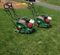 Lawn Revival: Aeration, Fertilizing & Overseeding