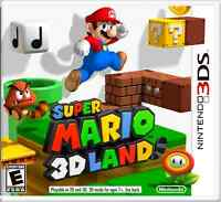 Super Mario 3d Land and Super Mario Brothers 2