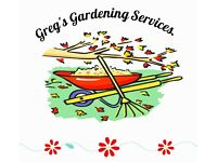Greg's Gardening Services Operating Throughout East Devon and Exeter.