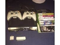 Bundle! Xbox 360 console and original with games