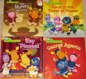 2 Sets of Qty 4 x Backyardigans Hard & Soft Cover Books London Ontario image 1
