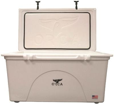 NEW ORCA ORCW140 WHITE COLORED 140 QUART INSULATED ICE CHEST COOLER USA 1335041