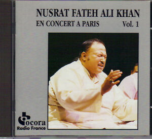 Nusrat Fateh Ali Khan - Paris Concert Vol. 1 West Island Greater Montréal image 1