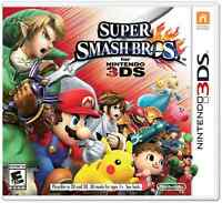 Super Smash Bros. for 3DS, everything unlocked