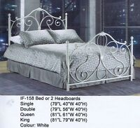 BRAND NEW FURNITURE - METAL SINGLE DOUBLE QUEEN KING BEDS