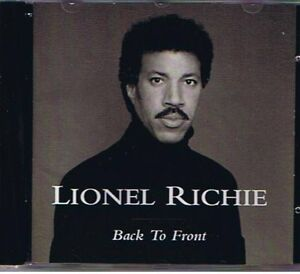 Back to Front CD of Lionel Richie