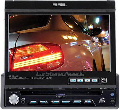 "Buy SoundStorm In-dash CD Players - Soundstorm 1 Din In Dash Car Dvd/mp3/cd Player 7"" Tft Lcd Touchscreen Monitor"