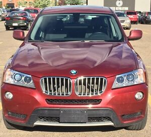 2013 BMW X3 35i LOW KMS, WINTER TIRES & EXTENDED WARRANTY!