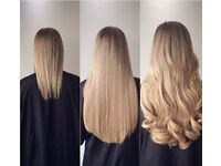 Hair Extensions £100 - Full Head Including Hair