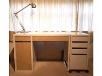 Desk + drawer unit