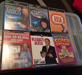 Selection of Classic DVD Games