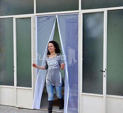 TENDA ZANZARIERA MAGNETICA JUSTGO - CHIUSURA VELOCE 120x260cm BIANCA, ISTRUZIONI CHIARE