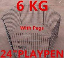 6 panel Pet Dog Playpen pen Cage Crate Enclosure Rabbit fence Oakleigh Monash Area Preview