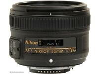 35mm or 50mm Nikon lens wanted