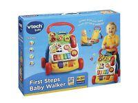 Brand New!!! Vtec first steps baby walker