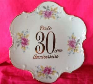 Vintage. Assiette 30 ième anniversaire made in Japan Gatineau Ottawa / Gatineau Area image 1