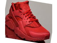 Nike Air Haurache Varsity Sport Red UK8.5US9.5EU43 100%Authentic