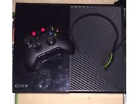 Xbox one 500gb, headset, controller