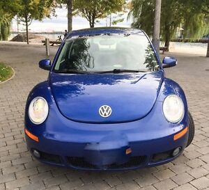 Beautiful Blue VW Beetle Certified and Etested