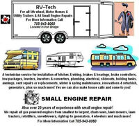 Available For Small Engine Repairs & All Trailers - Blind River