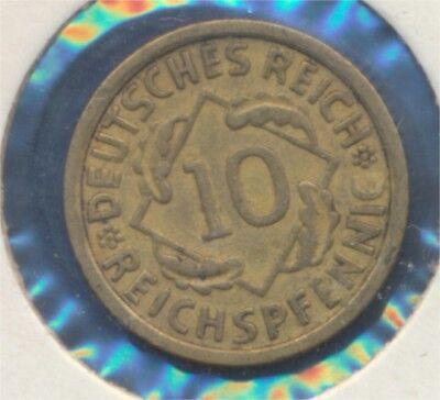 Deutsches Reich Jägernr: 317 1936 G vorzüglich 1936 10 Reichspfennig (7869013