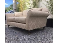 Immaculate Wesley Barrell Sofa, Over £2400 New.