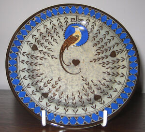 Royal Doulton Titanian 5 inch plate Bird Of Paradise series ware